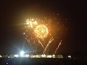 Stone Roses - Heaton Park-fireworks