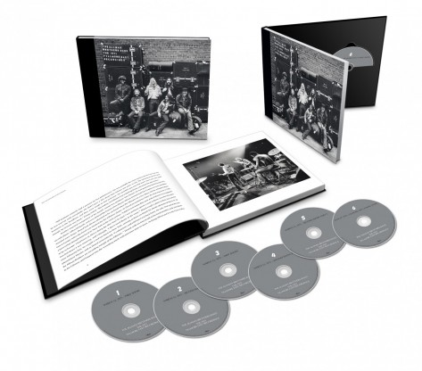 The Allman Brothers Band - Fillmore CD Product Shot