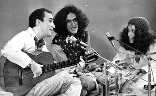 João Gilberto, Caetano Veloso e Gal Costa