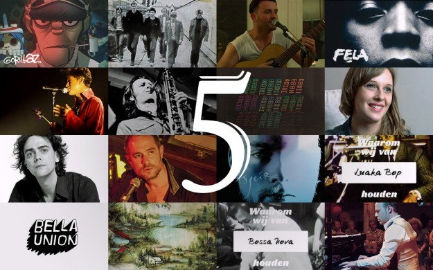 5 jaar Written in Music