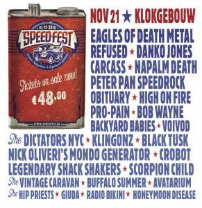 Speedfest artwork line up compleet