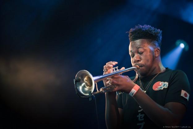 Ife Ogunjobi (Moses Boyd Exodus) - Bruno Bollaert