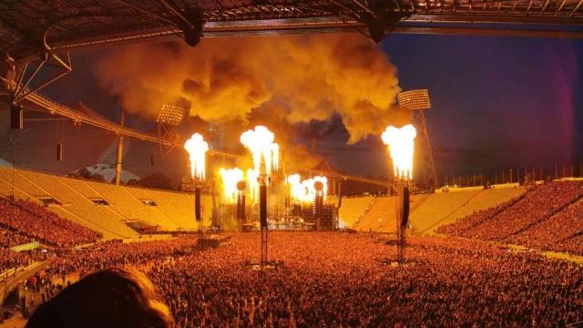 Rammstein Pyro show